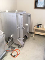電気窯TRB-J5型コロ付き1