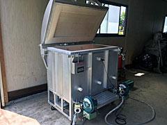 灯油窯 上蓋開閉式両方焚『OSA-02AR・T型』フルセット