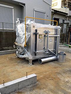 【新古】(モリシタミニキルン)ガス窯 MGK-A8-D-BH2-2型
